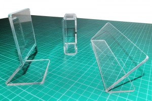 Acrylic Bends Accomplished by an acrylic strip heater