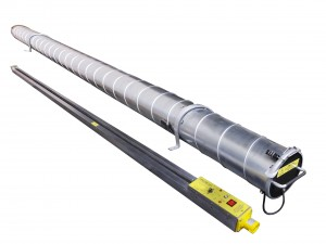 TH-9 cladding strip heater